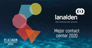 Lanalden, elegido mejor Contact Center de 2018